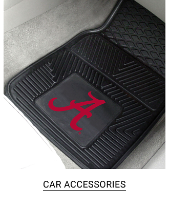 A car mat with a team logo on it. Shop car accessories.