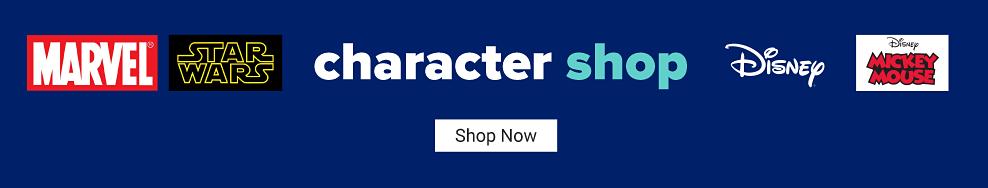 Character shop. Shop now