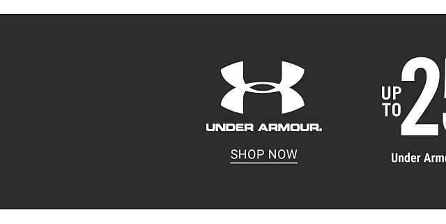 Up to 25% off Under Armour & nike. Shop Under Armour.