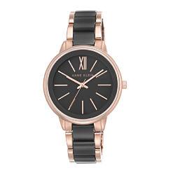 A black & gold women's watch. Shop watches.