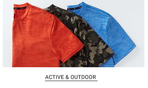 Active & outdoor.