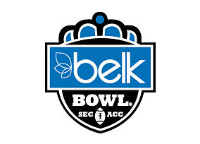 Belk becomes the title sponsor of the Belk Bowl, played at Bank of America Stadium in Charlotte, NC.