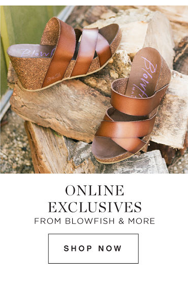 ONLINE EXCLUSIVES FROM BLOWFISH & MORE | SHOP NOW