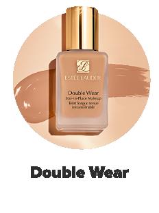 A bottle of Double Wear foundation in a medium shade. Double Wear.