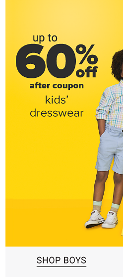 An assortment of boys and girls in a variety of brightly colored Easter and Spring dresswear. Up to 60 percent off kids dresswear after coupon. Shop boys. Shop baby Shop girls