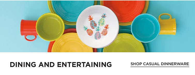 Dining And Entertaining Shop Casual Dinnerware