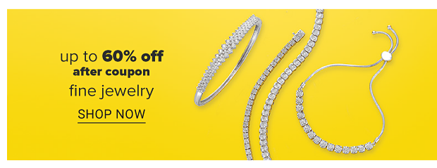 A diamond necklace, bracelet and earrings to match. UP to 60% off, after coupon, fine jewelry. Shop now.