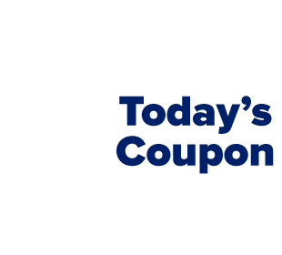 Today's coupon. Up to 40% off select brands after coupon.