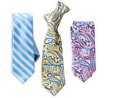 An assortment of ties in a variety of colors & prints. Shop ties.