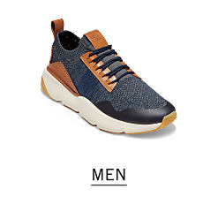 54d4309ab A black sneaker with brown leather accents. Shop men.