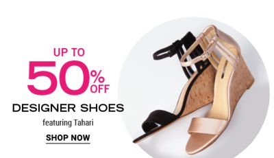 Up to 50% off Designer Shoes featuring Tahari. Shop now.