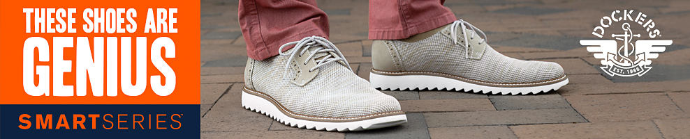 These shoes are genius. Dockers, smart series.