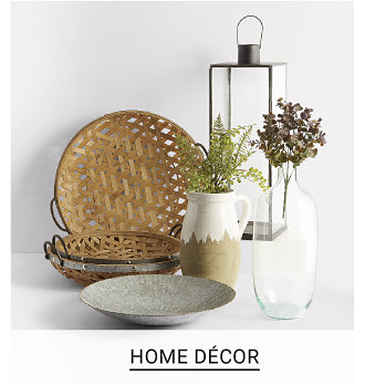 Shop Home Decor.