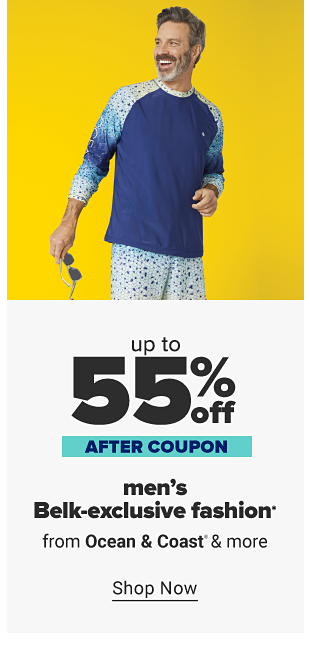 Up to 55% off men's Belk-exclusive fashion