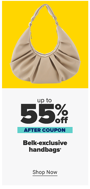 Up to 55% off Belk-exclusive handbags