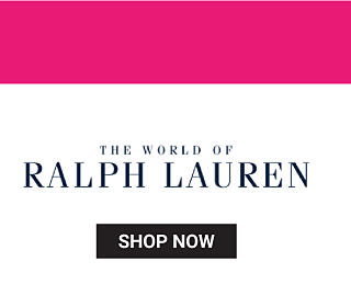 The World of Ralph Lauren. Shop now.