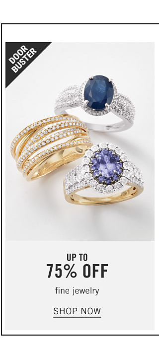 Fabulous Finishing Touches. An assortment of gold, silver, diamond & blue diamond rings. Doorbuster. Up to 75% off fine jewelry. Shop now.
