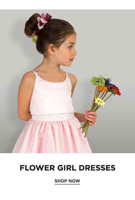 Flower girl dresses. Shop now