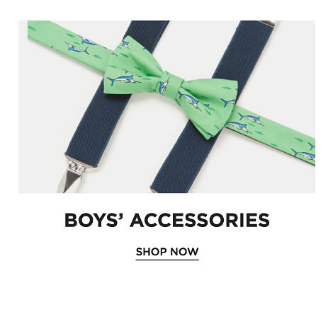 Boys' Accessories. Shop Now.