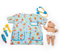 A kids doctor play set. Shop pretend play.