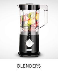 A blender with fruit in it. Shop blenders.