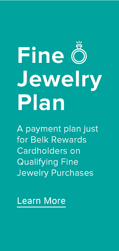 Fine Jewelry Plan. A payment plan just for Belk Rewards Cardholders on Qualifying Fine Jewelry Purchases.