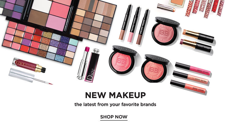 New Makeup the latest from your favorite brands Shop Now