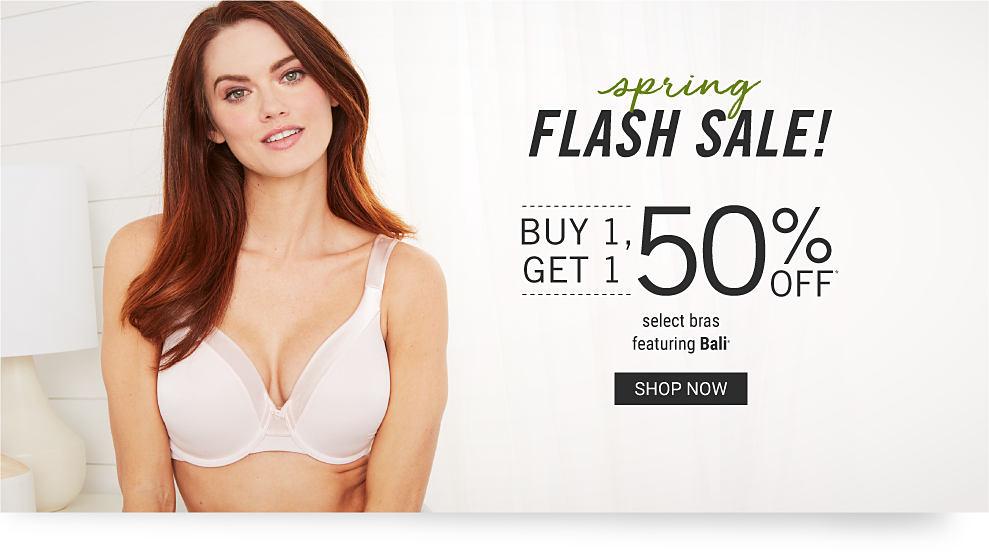 d3eeea3b71d Woman wearing a white bra. Spring flash sale. Buy 1