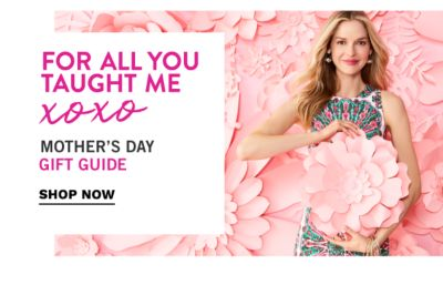 For all you taught me, XOXO - Mother's Day Gift Guide {Mother's Day is May 13th}. Shop Now.