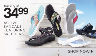 starting at 34.99 ACTIVE SANDALS FEATURING SKECHERS | SHOP NOW
