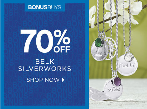 BONUSBUYS | 70% OFF BELK SILVERWORKS | SHOP NOW