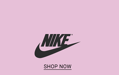 25% off activewear for the family. The Nike logo, shop now. The Under Armour logo, shop now. The adidas logo, shop now.