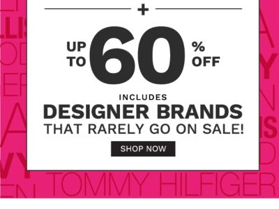 friends and family sale up to 60% off designer brands