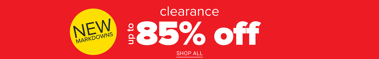 Shop clearance.