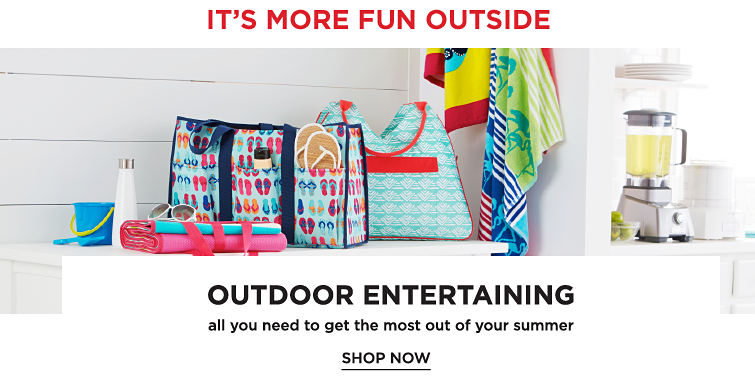 It's More Fun Outside | Outdoor Entertaining | All You need To Get The Most Out Of Your Summer | Shop Now