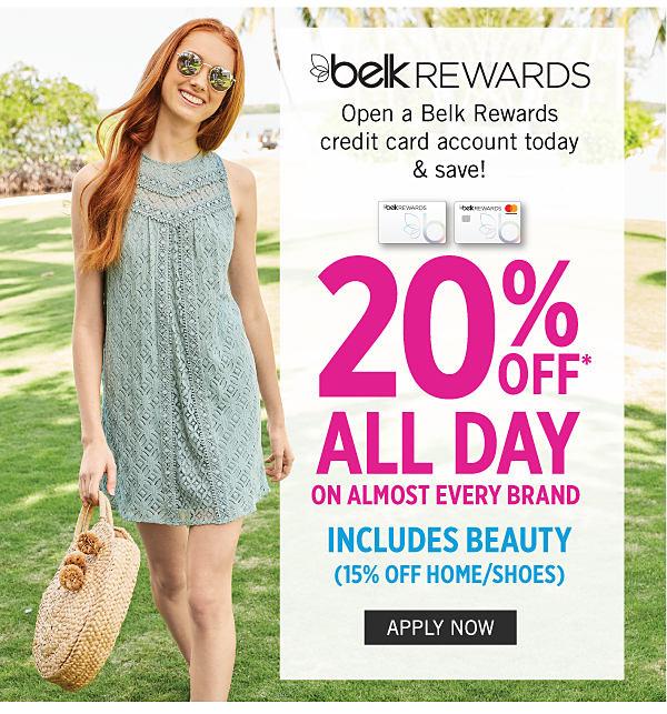 Belk Open A Belk Rewards Credit Card Save