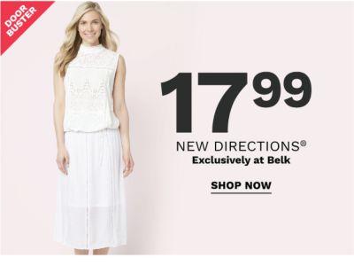 Doorbuster - 17.99 New Directions® exclusively at Belk. Shop now.