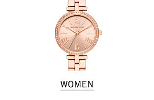 A rose gold colored women's watch. Shop women's watches.