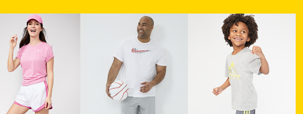 Activewear for the family. Shop now.