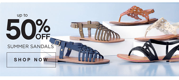 up to 50% Off Summer Sandals | Shop Now