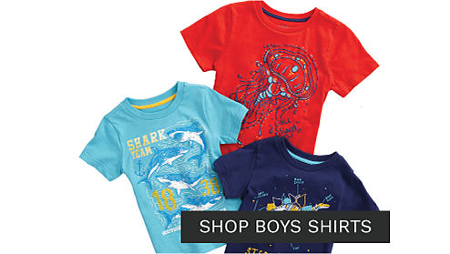 An assortment of boys graphic tees in a variety of colors & styles. Shop boys tops.