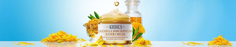 A container of water cream from Kiehs's.