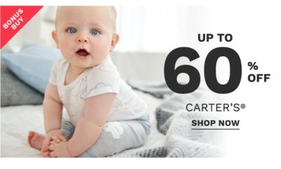 Bonus Buy - Up to 60% off Carter's®. Shop now.