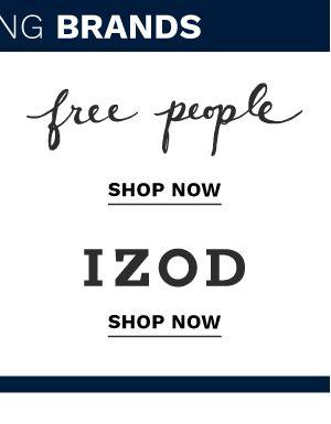 IZOD. Shop now.