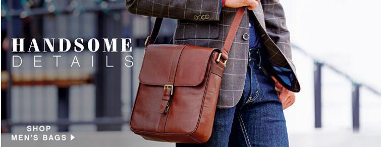 Handsome Details - shop men's bags