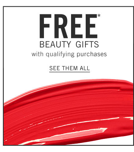 A smudge of red nail polish. Free Beauty Gifts with qualifying purchases. Shop now.
