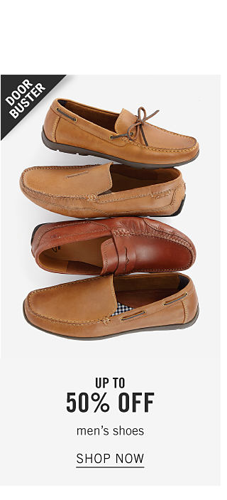 Share the Little Things. An assortment of loafers in a variety of colors & styles. Doorbuster. Up to 50% off men's shoes. Shop now.