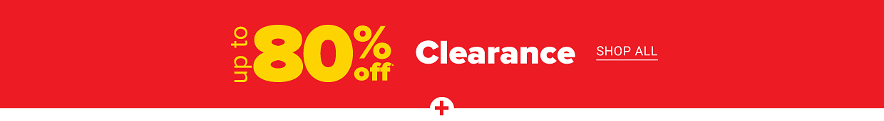 New markdowns. Up to 80% off clearance