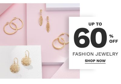 Up to 60% off fashion jewelry. Shop Now.
