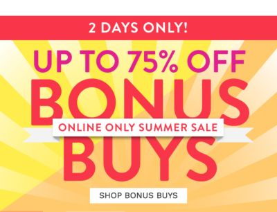 online only flash sale